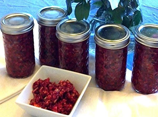 Marilou's Cranberry Sauce Recipe