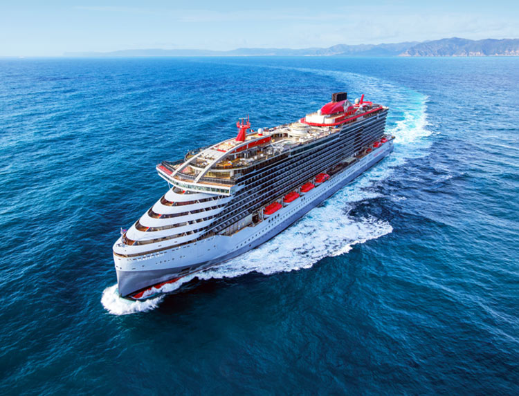 Save big when you book a voyage to Mexico or the Caribbean during the Scarlet Lady's inaugural season.