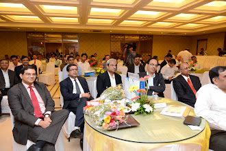 Photo: Mr. Ashish Chauhan, BSE, Mr. Ravi Varanasi, NSE at the Conclave