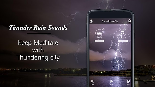 Thunder Rain-Sleep Sounds APK Latest Version Download - Free Health