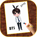 How to Draw BTS Members | Fans APK