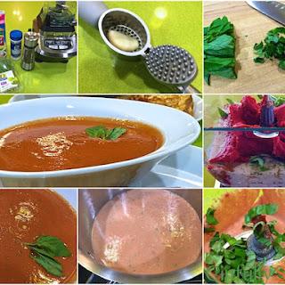 Easy Eats - Dreamy Creamy Tomato Basil Soup