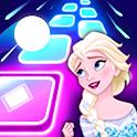 Let It Go Magic Beat Hop Tiles icon
