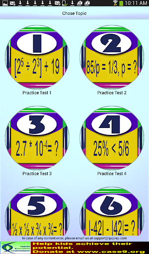 Grade 5 Math Practice Tests