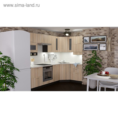 Кухонный гарнитур Симона гранд оптима 2600*1500