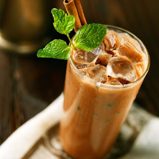 Iced Mocha with Mint