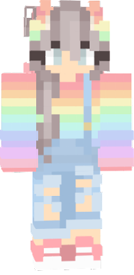 Fofinha é uma skin minha para minecraft ela é muito linda ^^