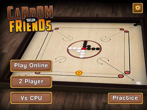 Carrom Multiplayer - 3D Carrom Board Games Offline Screenshots 10