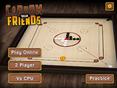 Carrom Multiplayer – 3D Carrom Board Game 10