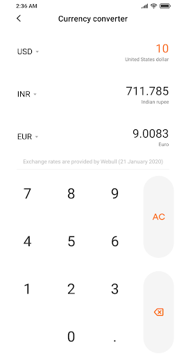 Mi Calculator  screenshots 5
