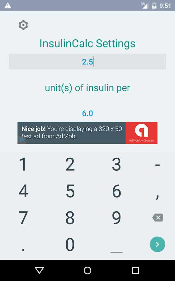 insulin calculator android apps on google play. Black Bedroom Furniture Sets. Home Design Ideas