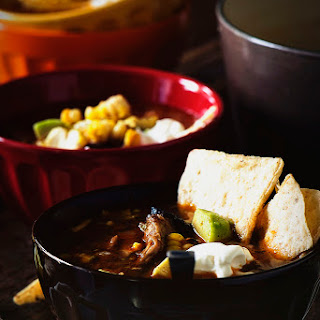 Grilled Chicken Tequila Tortilla Soup