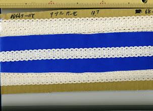 Photo: №06469-118綿ダブルガーゼ:巾20mm 在庫なし:廃盤