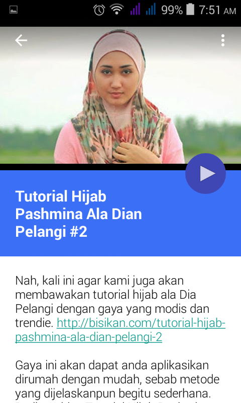 Hijab Tutorial Dian Pelangi - Android Apps on Google Play