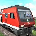 Indian Train Simulator Free Best Train Racing Game icon