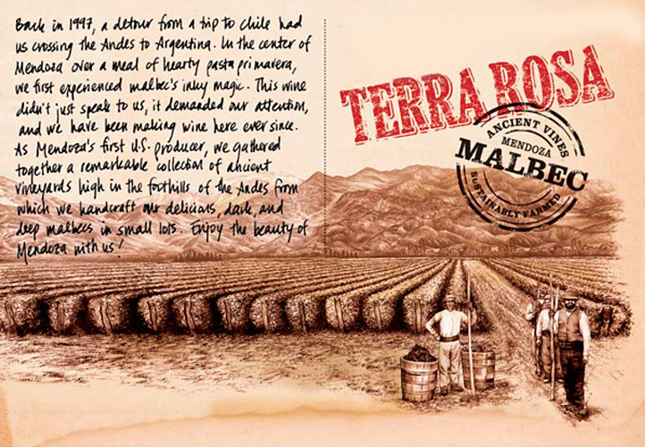 Logo for Tierra Divina Terra Rosa Malbec