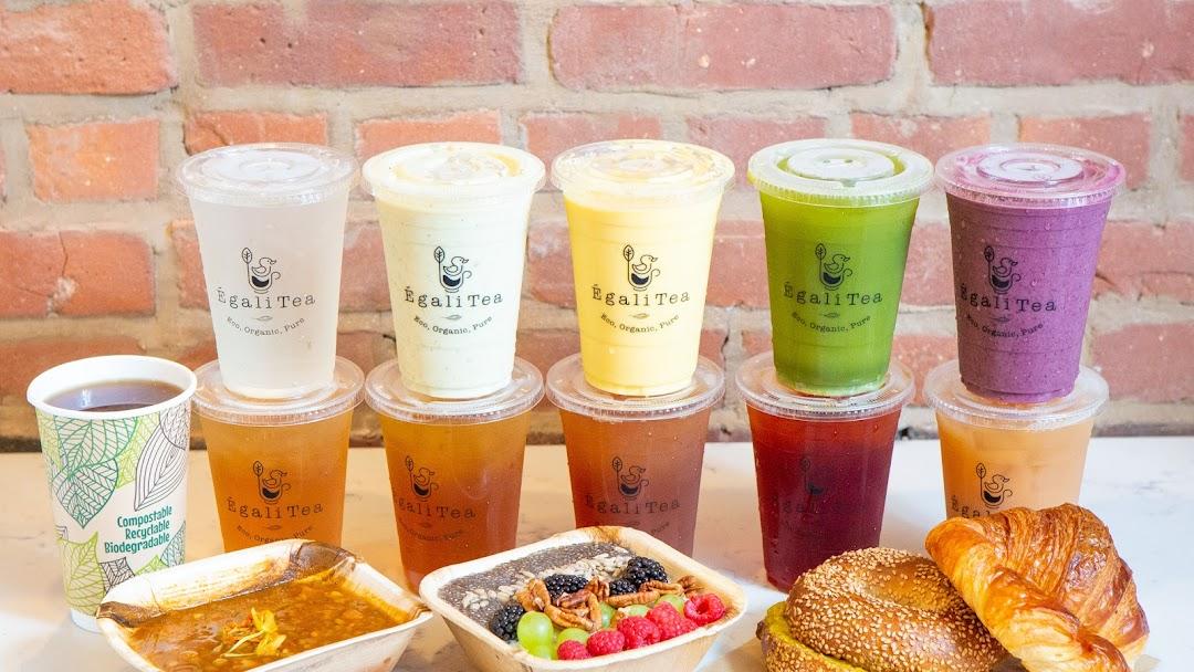 ÉgaliTea Organic Café - Modern Tea House in Boston