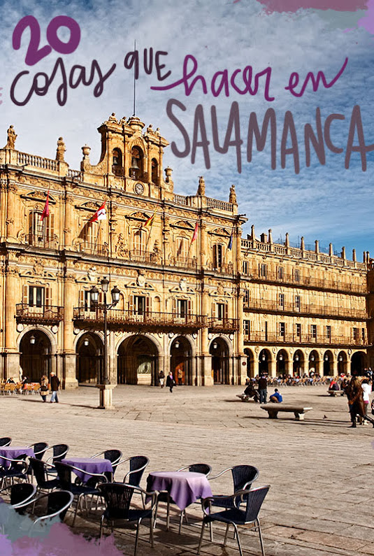 cosas que ver y hacer en Salamanca en un día