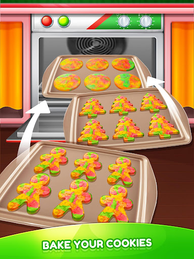 Download Christmas Unicorn Cookies Gingerbread Maker Game On Pc