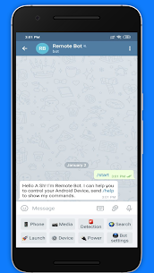 Remote Bot for Telegram & Viber MOD (Unlocked) 5