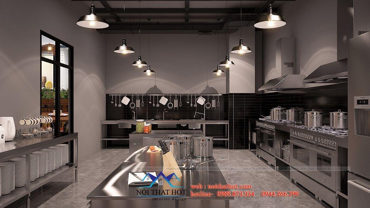 thiết kế nhà hàng cơm niêu đất
