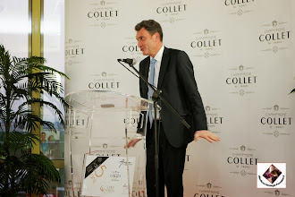 Photo: Directeur du Champagne Collet (COGEVI