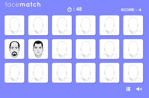Face Puzzle Match Perfect