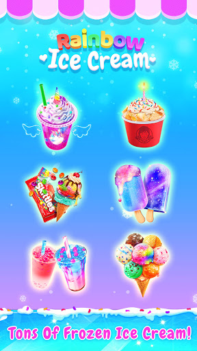 Rainbow Ice Cream - Unicorn Party Food Maker 1.5 screenshots 14