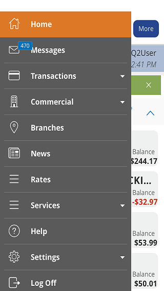 Erie FCU Mobile App- screenshot
