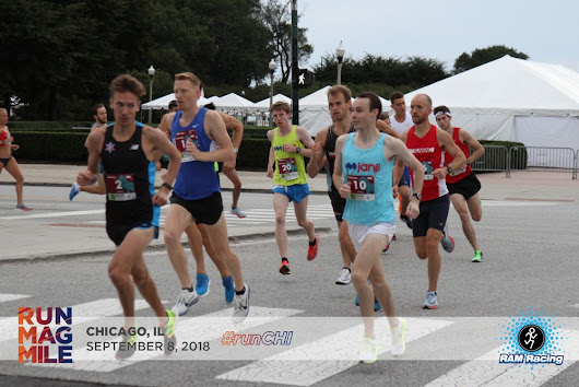 Race Report: Run Mag Mile 10K, Chicago, Illinois. In the Reebok Floatride Run Fast Pro!