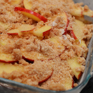Crumbly Apple Happiness