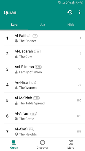 Quran Mate - A  best tool to learn the Quran. 1.3.1 screenshots 1
