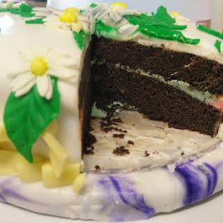 Healthy Sugar-Free Chocolate Cake.