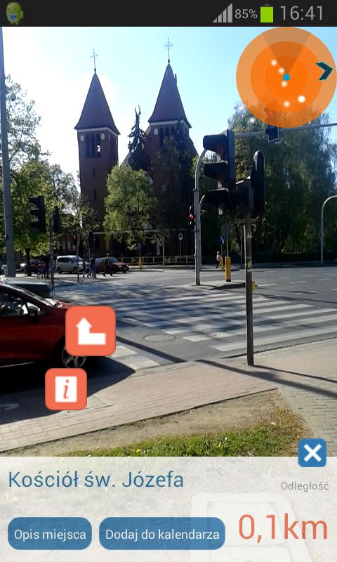 Скриншот Visit Olsztyn