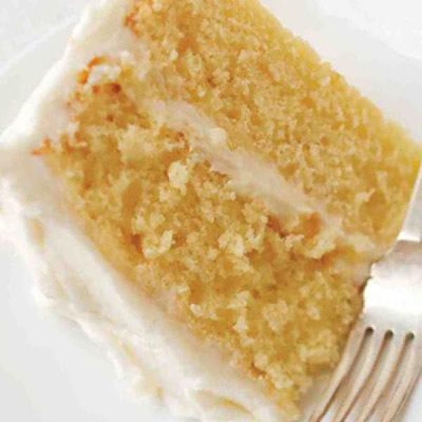 Swiss Orange Cake Recipe