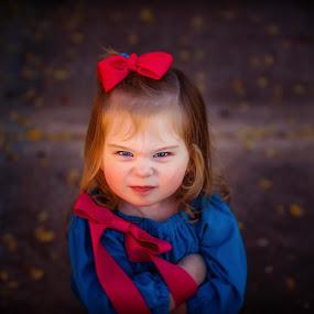 mean muggin' by Beth Ann - Babies & Children Child Portraits ( face, girl, child )
