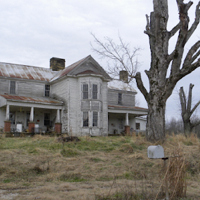 ABANDONED by Patti Westberry - Buildings & Architecture Decaying & Abandoned ( dilapidated, haunted house, house, tennessee house, abandoned,  )