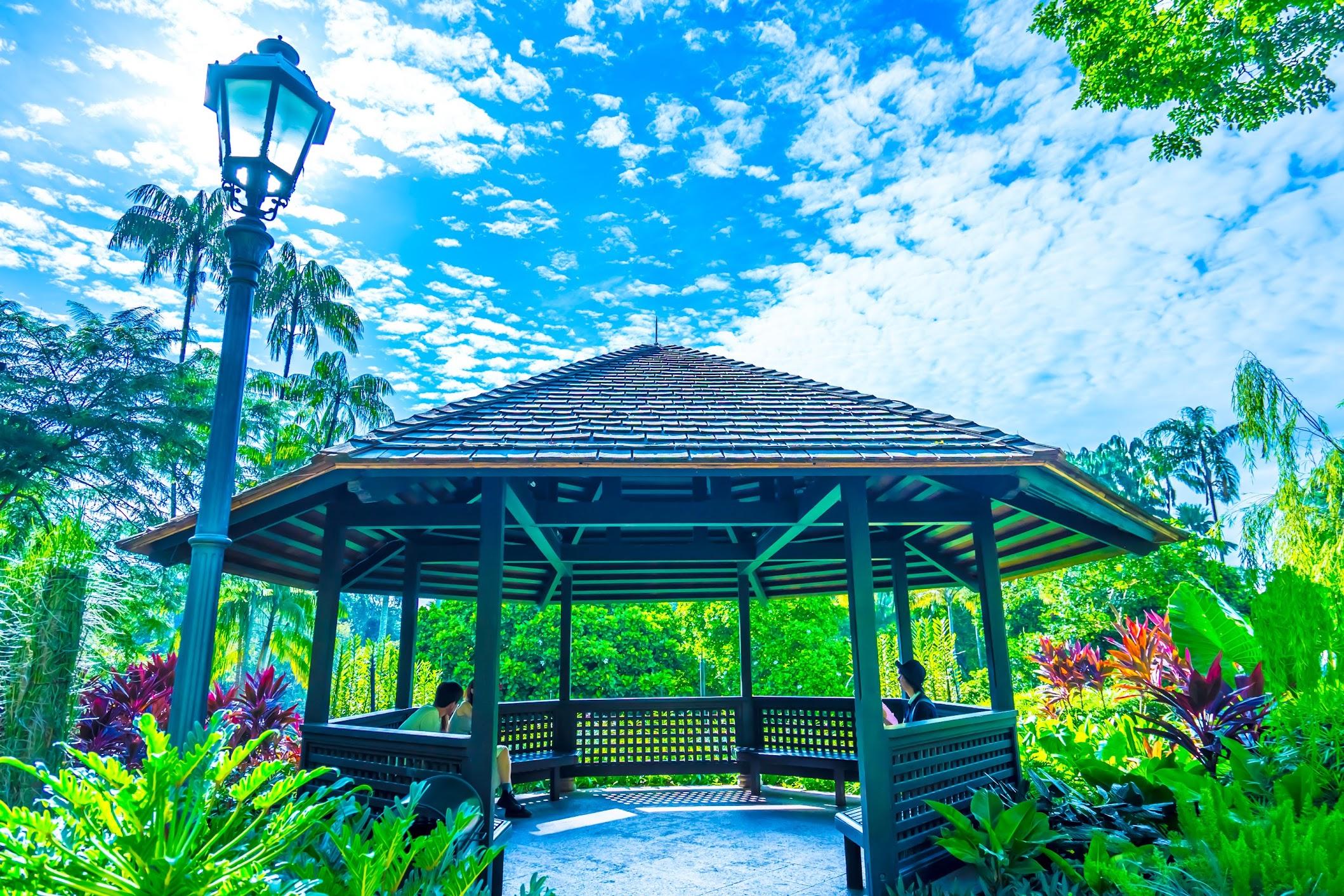シンガポール植物園(ボタニック・ガーデン) ナショナル・オーキッド・ガーデン(国立ラン園)2