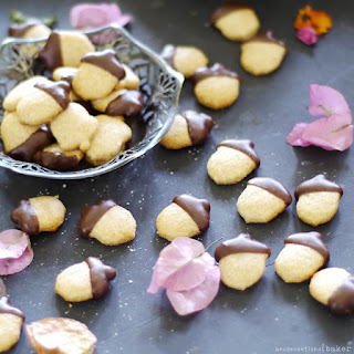 Autumn Acorn Cookies