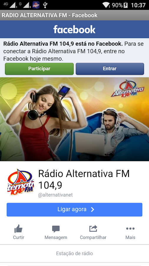 ALTERNATIVA FM- screenshot
