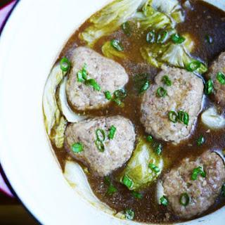 Lion's Head Meatballs.