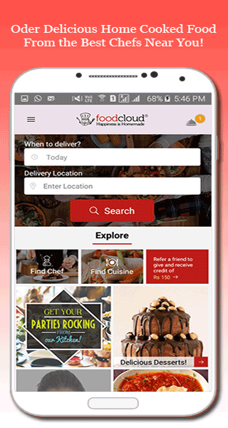 FoodCloud- screenshot