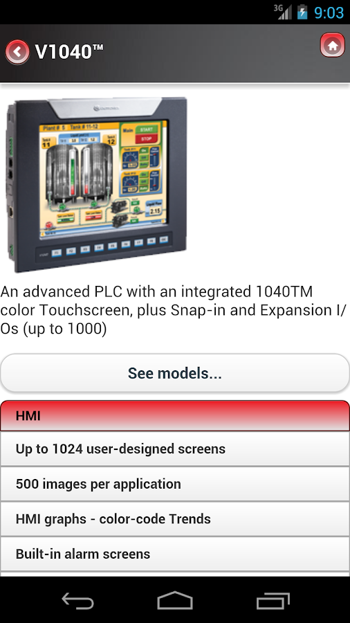 UNITRONICS PLC+HMI- screenshot