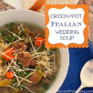 Crock-Pot Italian Wedding Soup.