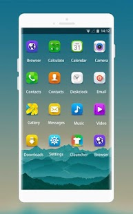 Theme for Samsung Galaxy Y Mysterious Wallpaper - náhled