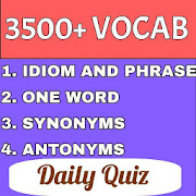 ENGLISH VOCAB QUIZ (3500+ IMPORTANT VOCAB TEST)‏