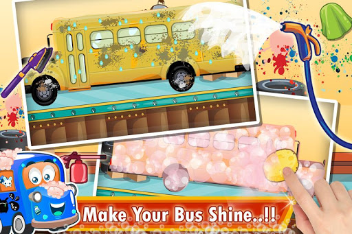 Kids School Bus Spa Simulator 1.0 screenshots 2
