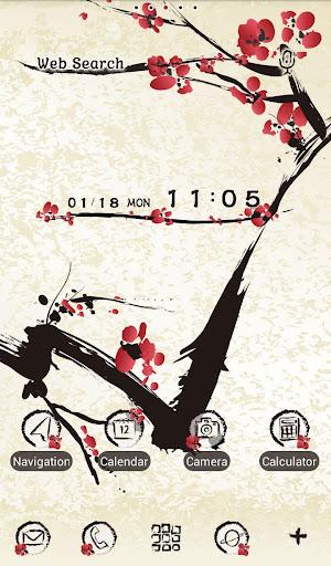 Japanese Style-Sumie Plum 1.0.0 Windows u7528 5