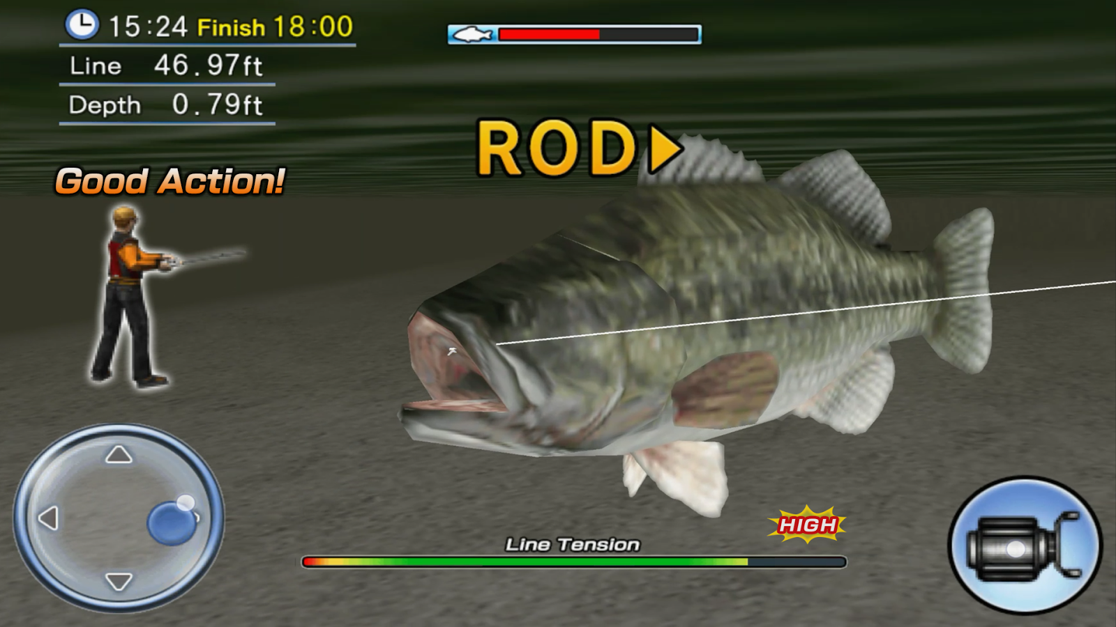 Bass Fishing 3D Free- screenshot