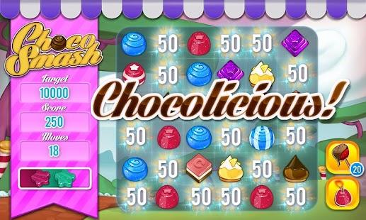 Choco Smash (Unlimited Lives)- screenshot thumbnail